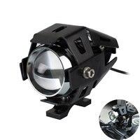 Motorcycle Headlight LED U5 Farol Moto Waterproof For yamaha r6 2008 r25 mt 03 bws 125 mt 10 xt660 tracer 900 fazer 1000 yz 250