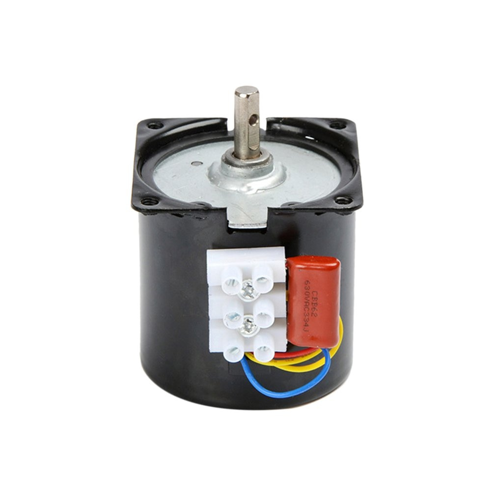 220v ac 40w low speed geared motor 70ktyz permanent magnet synchronous motor adjustable direction high torque low noise motor 60KTYZ 220V Synchronous Motor 14W Permanent Magnet Motor Large Torque Low Speed Low Noise 100% Pure Copper Coil Motor