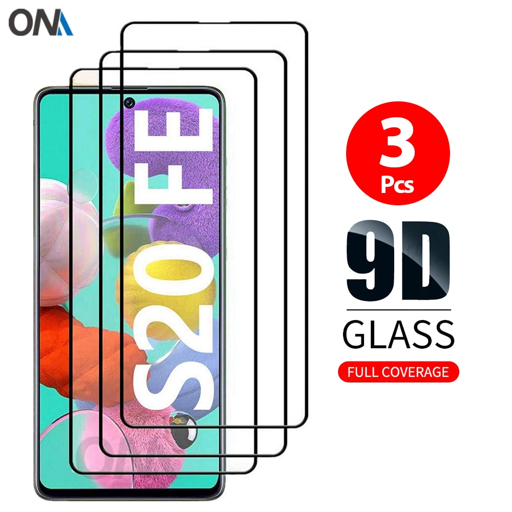 Screen Protector for Samsung Galaxy S20 FE 5G 6.5 Tempered Glass Full coverage Protection Glass Film for Samsung Galaxy S20 Lite