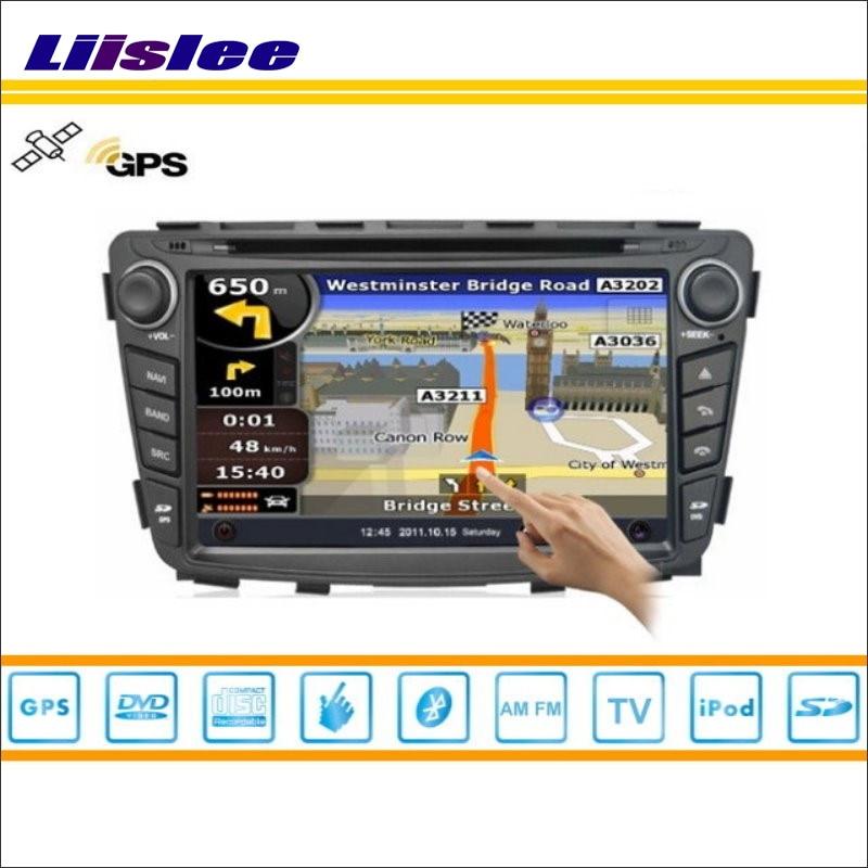 Liislee coche Multimedia Android para Hyundai fluidic Verna/Gran avega Radio CD reproductor de DVD GPS Nav Navi navegación Audio Video