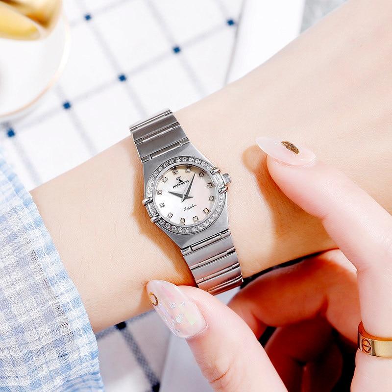 John boss New Arrival Old Fashion Constellation Luxury Quartz Watch Women Fashion and Elegant Untral Thin small Watch Lady enlarge