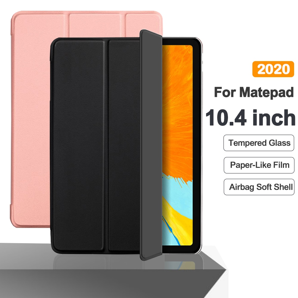 Flip Tablet Case For Huawei MatePad 10.4 2020 Funda PU Leather Smart Cover For Matepad 10.4'' BAH3-W09 BAH3-AL00 Folio Capa