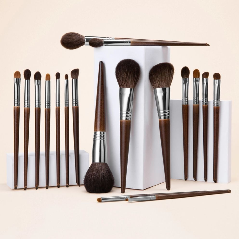 OVW Natural Makeup Brushes Set Eyeshadow Make Up Brush Goat Hair Kit for Makeup nabor kistey Blending  pinceaux maquillage