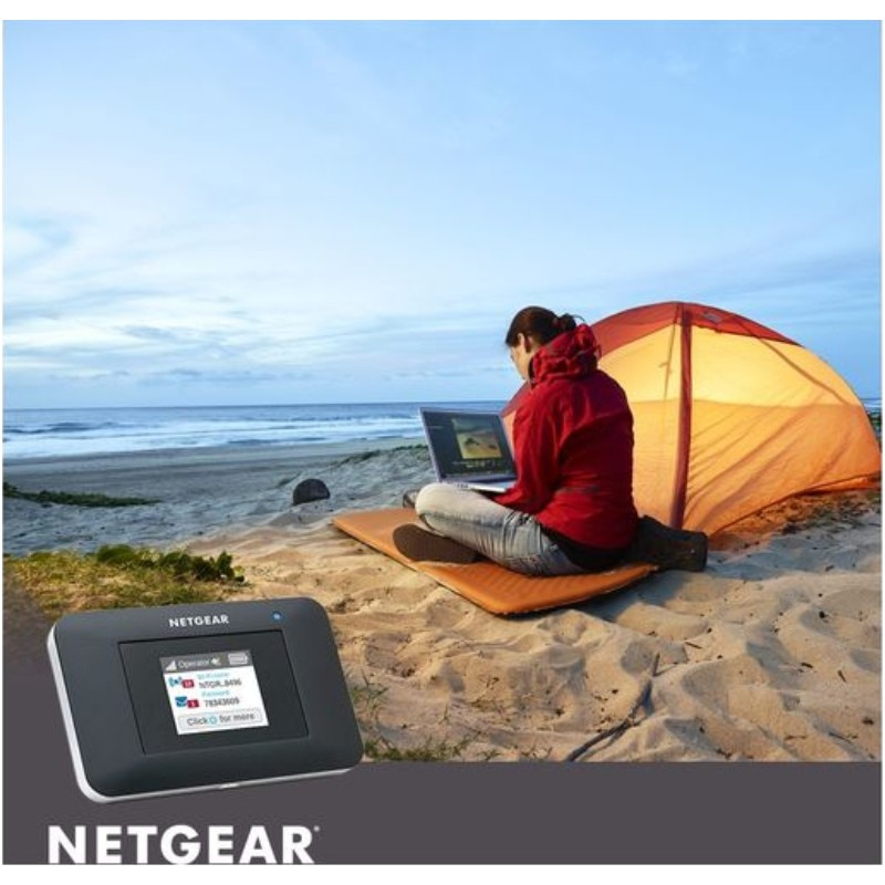 Netgear Aircard AC797s 400Mbps 4g Mini Wifi Color Touch Screen 4G Wifi Router enlarge