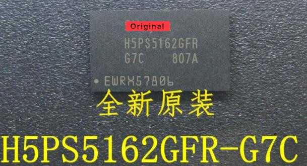{Nuevo original} 5 uds H5PS5162GFR-G7C H5PS5162GFR BGA