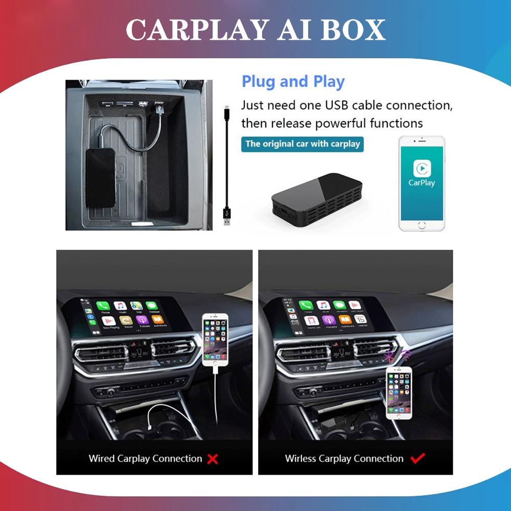 MMB اللاسلكية CarPlay AI صندوق ل بنتلي/رولز رويس/جيب يدعم السلكية سيارة مشغل وسائط متعددة راديو السيارة أبل صندوق أندرويد