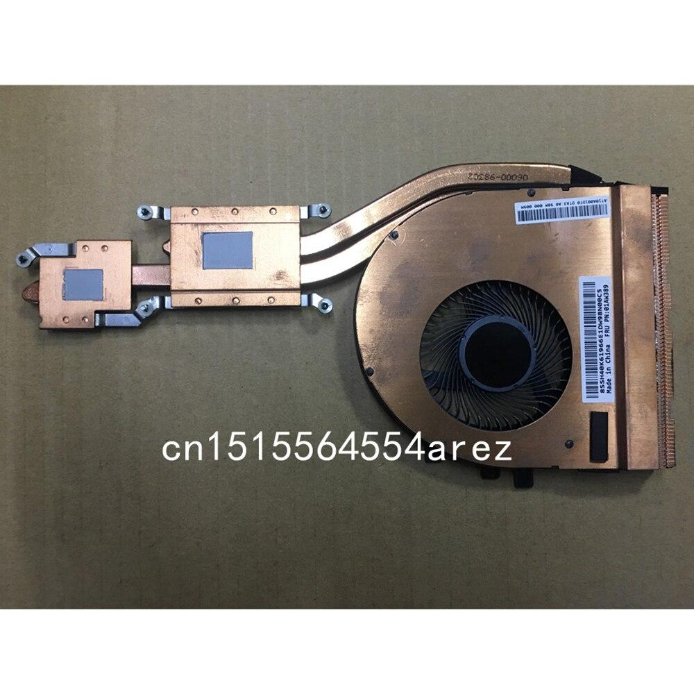 Lenovo ThinkPad T460p T470p مروحة تبريد وحدة المعالجة المركزية ، مجموعة المبرد ، أصلي وجديد ، 01AW389 01AW390