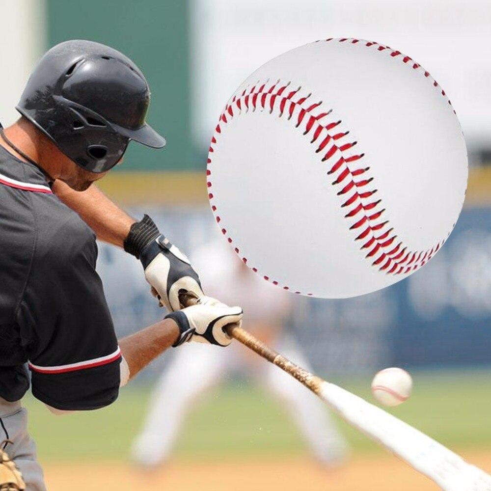 Универсальные бейсбольные мячи 9 # ручной работы из ПВХ и искусственной кожи, бейсбольные мячи для Софтбола, бейсбольные мячи для тренировок...