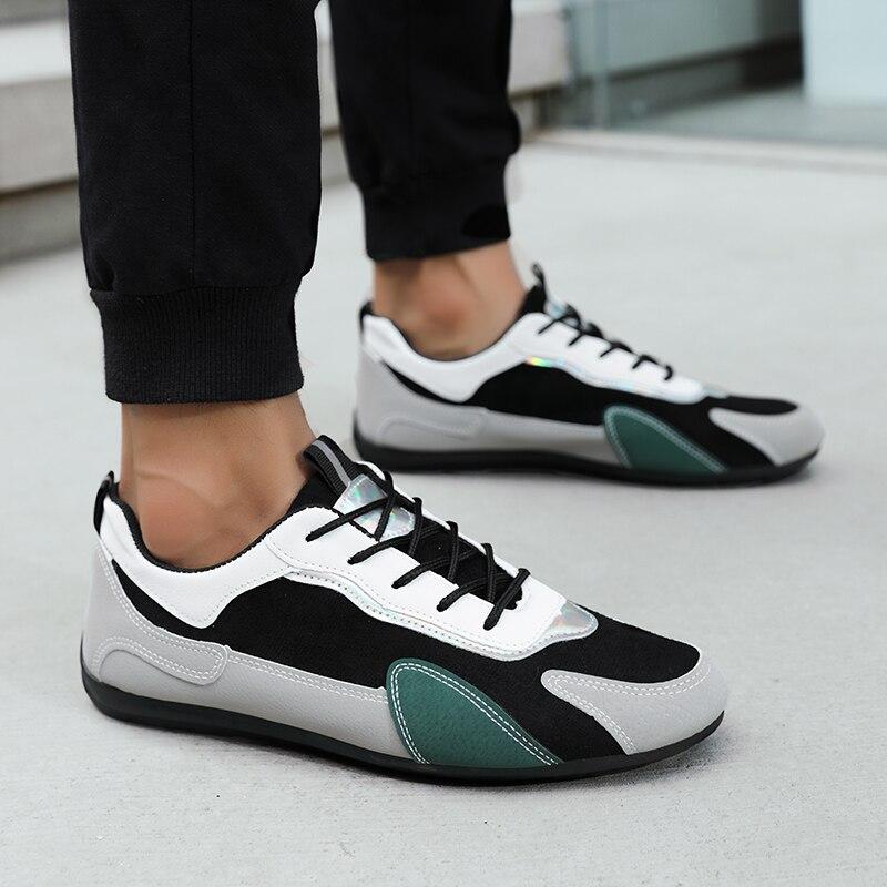 Fashion Shoes Men Original Designer Men'S Shoes For Autumn Leather Sneakers Men'S Leather Boots Mens