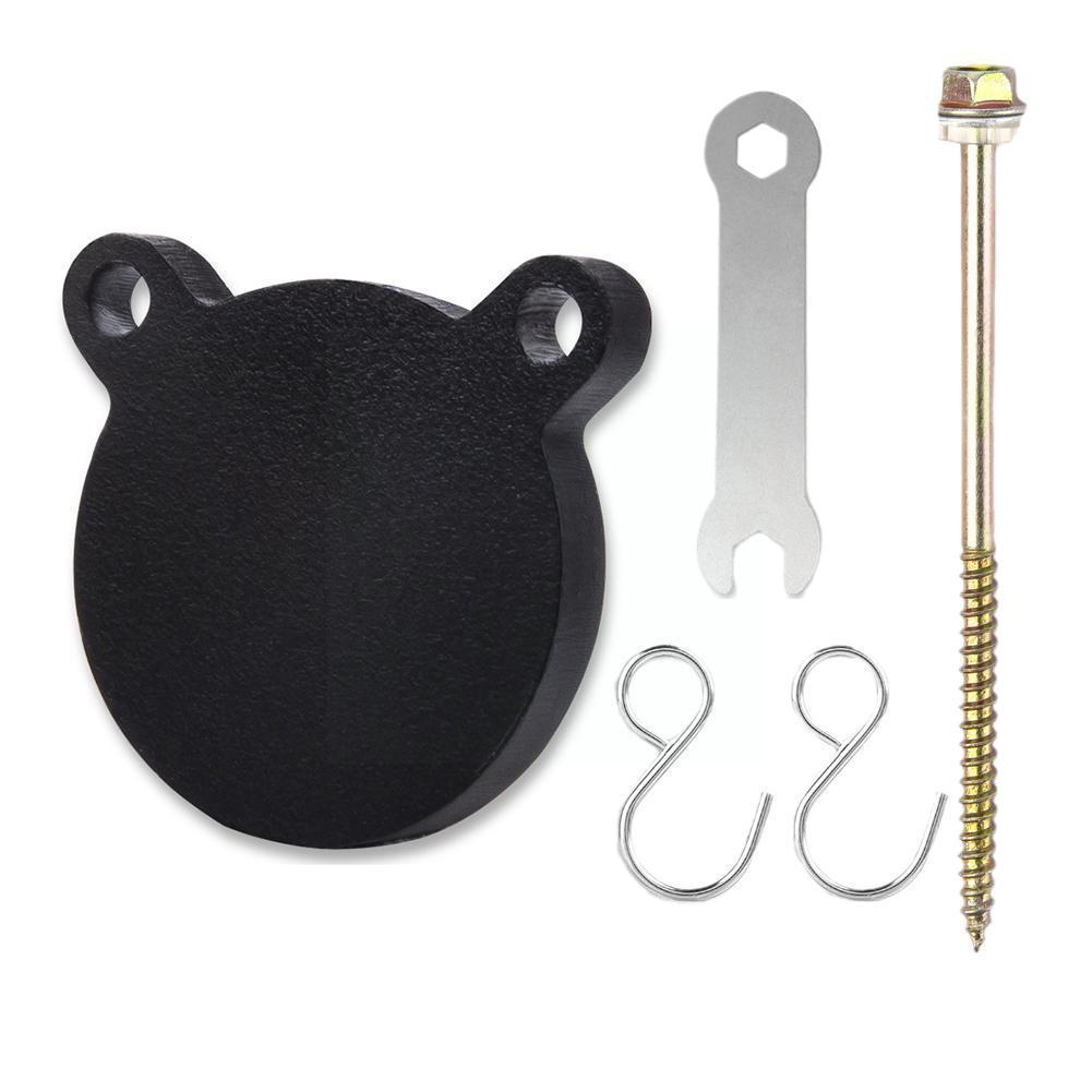 Рогатка металлическая тренировочная мишень портативная и прочная металлическая мишень для стрельбы Толстая тренировка панда мишень N8F4