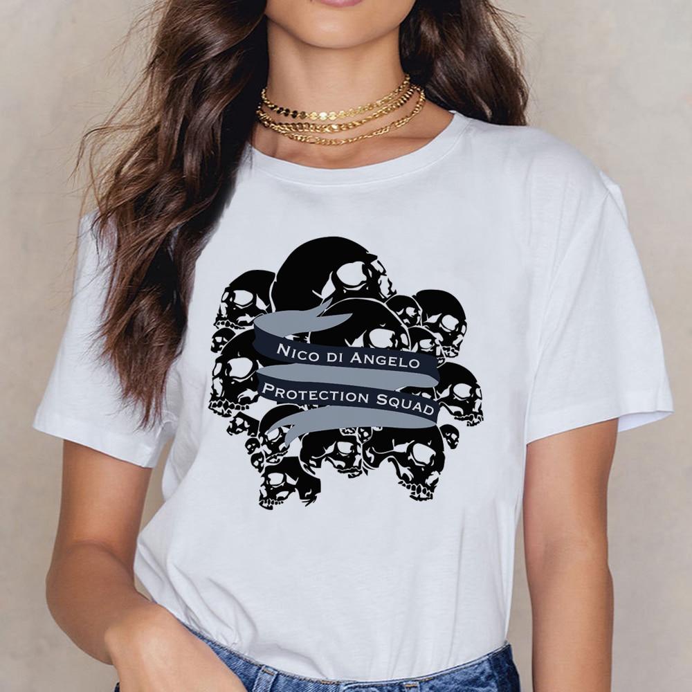 Camisa de t das mulheres das mulheres de nico di angelo
