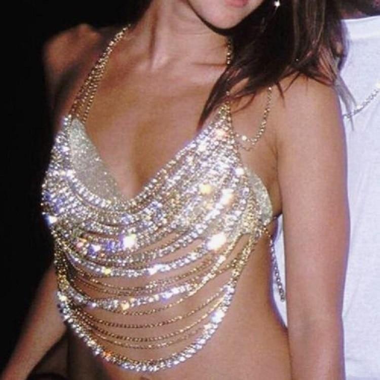 Collar de cristal para mujer, accesorio de Moda de lujo, con todo...