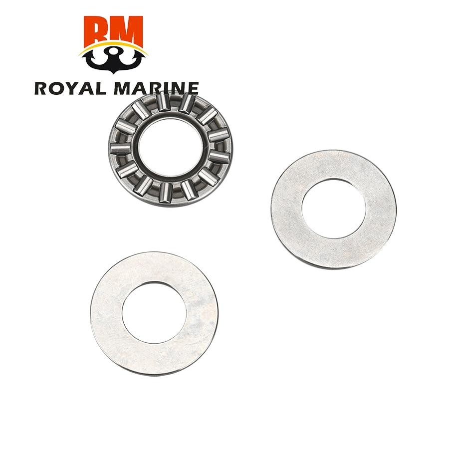 93341-414v1 rolamento de pressão da agulha para yamaha hidea parsun motor de popa 9.9hp 15hp peças de reposição 93341-41414
