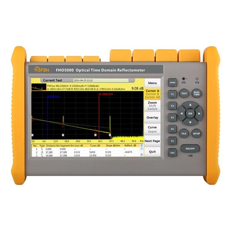 FHO5000 MD21 SM MM OTDR 850/1300/1310 нм 19/21/35/33 дБ 145 км сенсорный экран