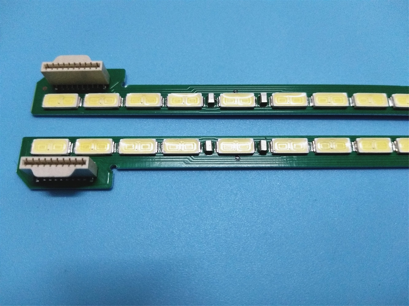10 مجموعة = 20 قطعة LED شريط إضاءة خلفي ل LG 49UB8800 49UB8200 49UF695V 6922L-0128A 6916l1722B 6916l1723B 49UB8300 49UB850V 49UB830V