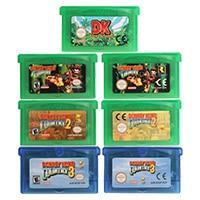 32 Bit Video Game Cartridge Console Card Donke Kong Series US/EU Version For Nintendo GBA