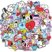 50 pcs cartoon graffiti stickers mobile phone suitcase car refrigerator helmet waterproof stickers anime decor