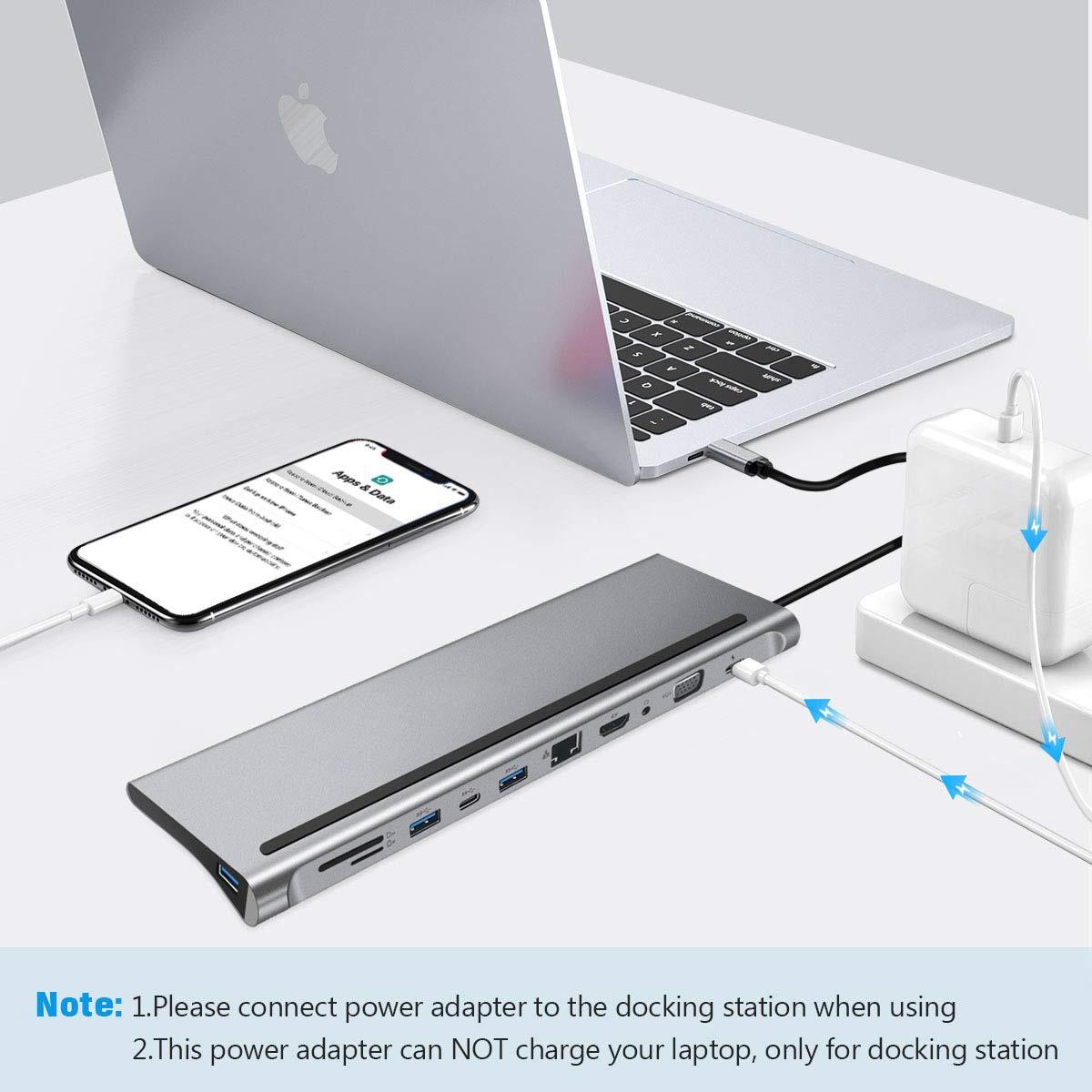 Estação de carga p/ laptop