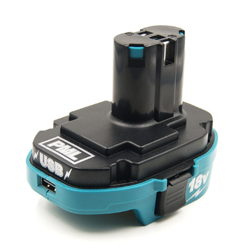 محول بطارية الليثيوم 18 فولت لماكيتا ، محول بطارية ليثيوم 18 فولت ، NI-Cd ، ملحقات NI-mh ، شاحن USB