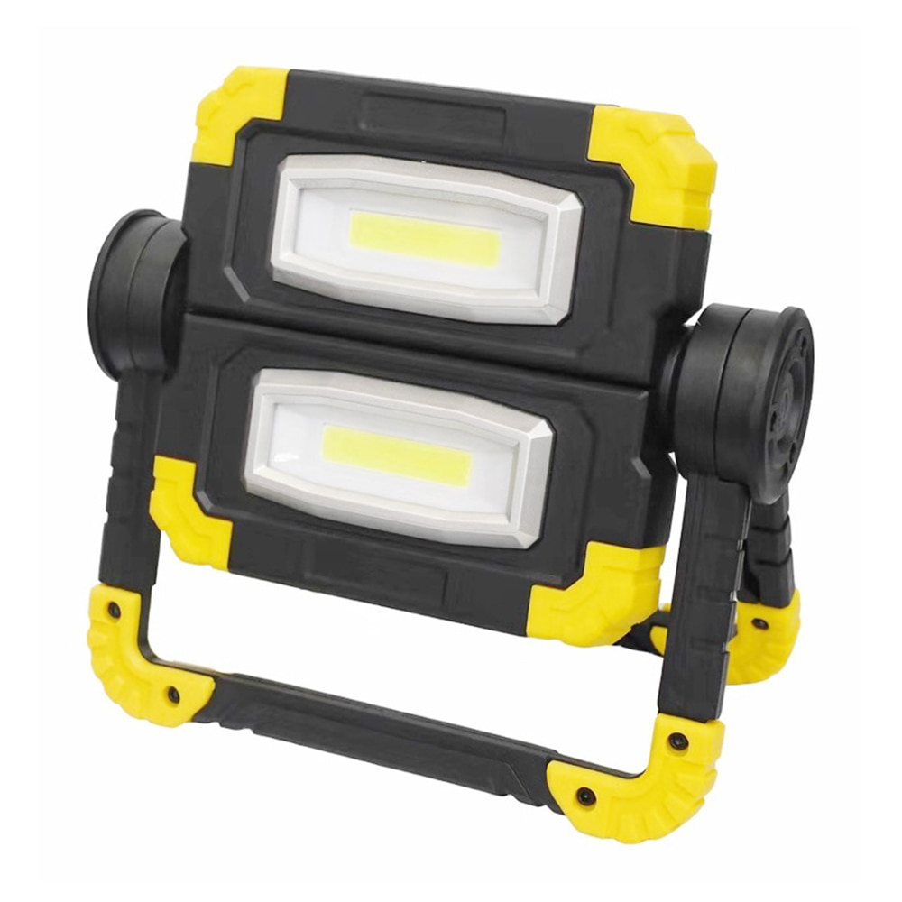 850lm COB Work Lamp LED Portable Spotlight 360° Rotate Waterproof Emergency Rechargeable Floodlight Outdoor Camping Light Latern