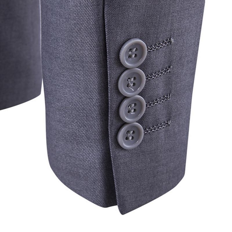 2021 Men's Fashion Slim Suits Men's Business Casual Groomsman three-piece Suit Blazers Jacket Pants Trousers Vest Sets