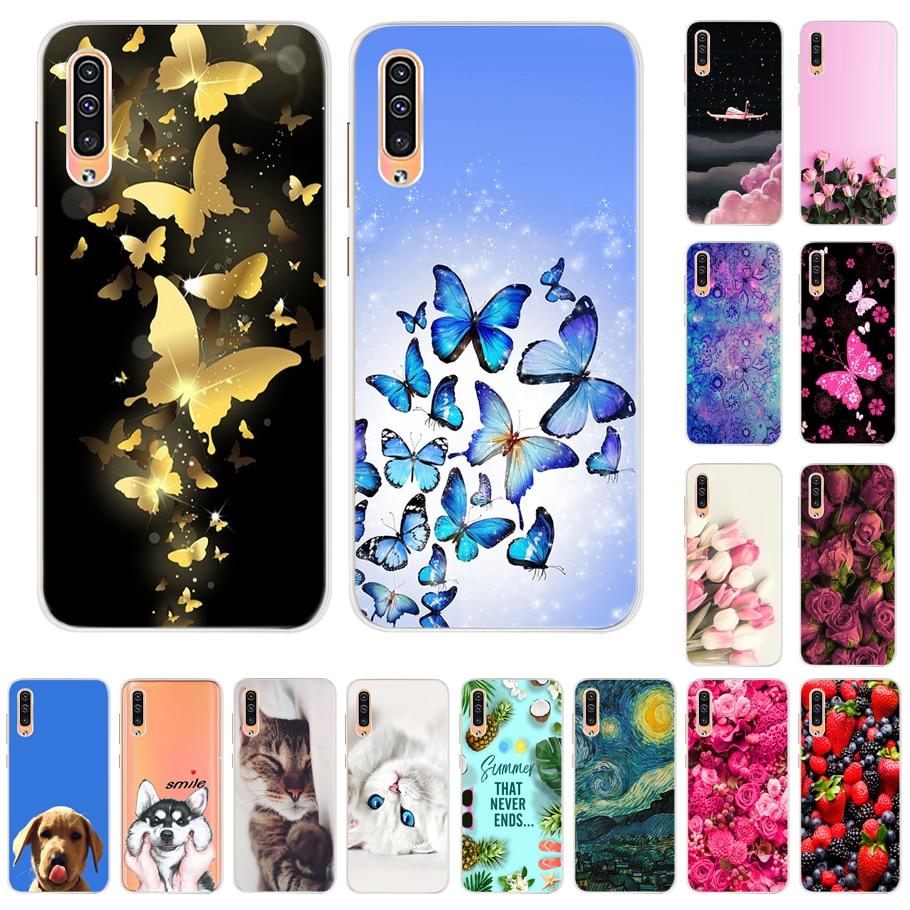 Funda para Samsung A70 A 70 A705 A705F 2019 nueva funda trasera de teléfono suave para Coque Samsung Galaxy A70 sm-a705 6,7 funda de silicona