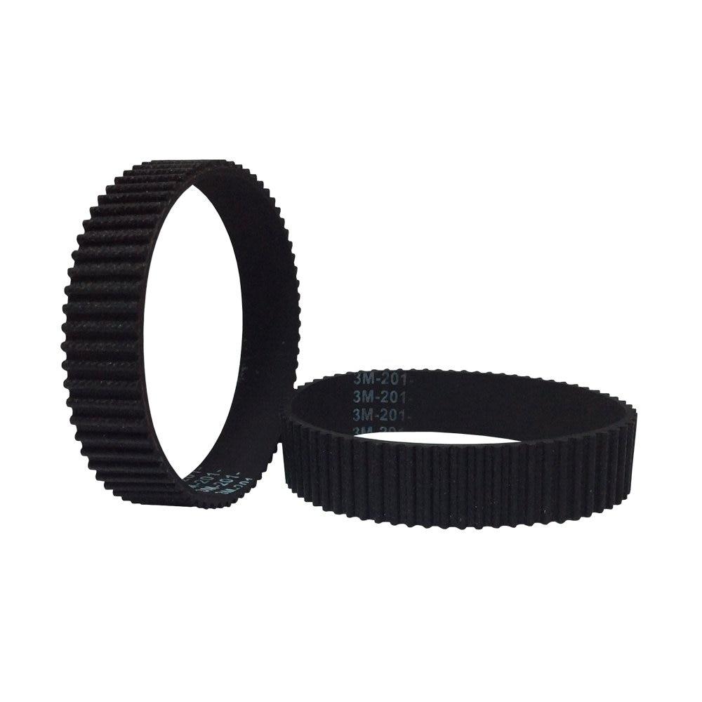 HTD 3M Closed Loop Timing Belts 564/570/573/585/588/600/606/609/624/630/633mm Length 6/10/15mm Width Drive Belts Timing Belts