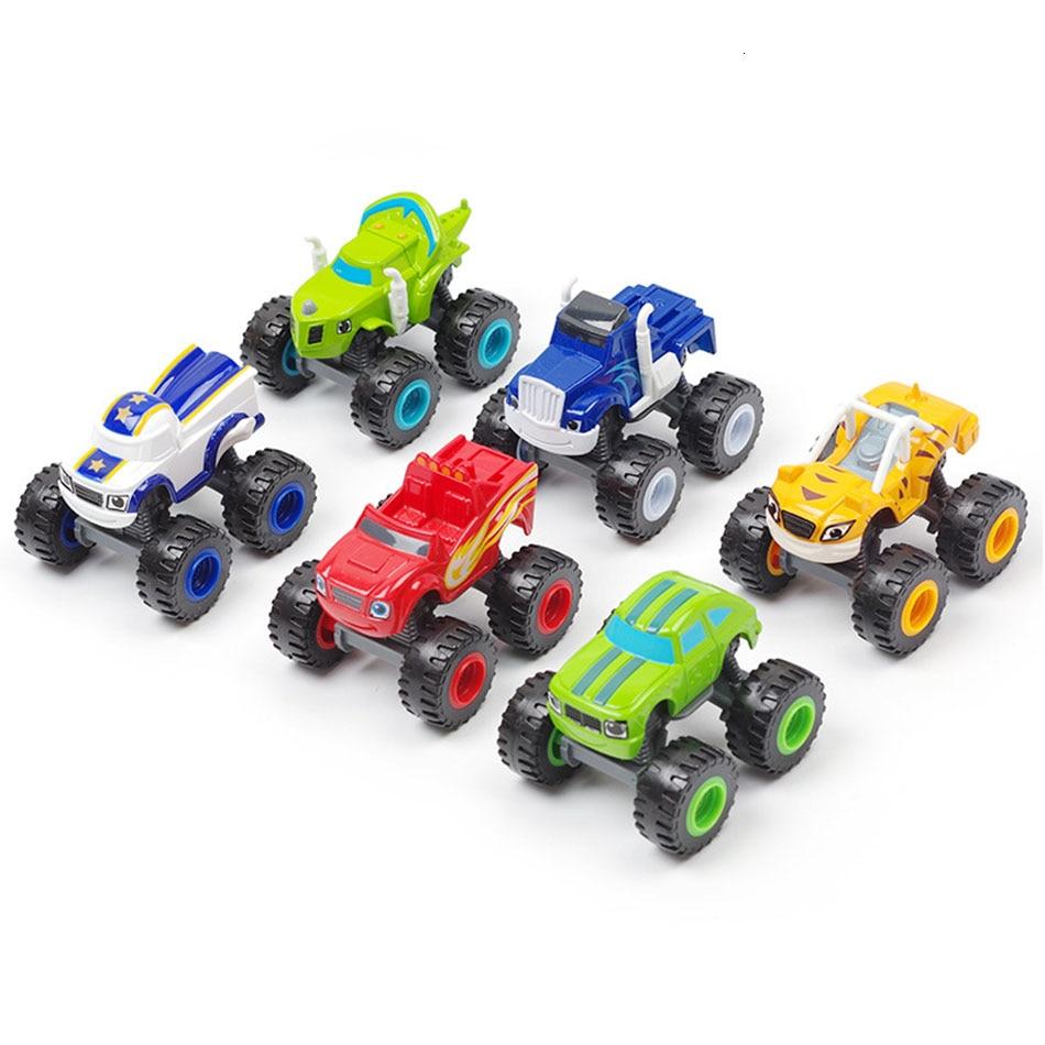 Машинная игрушка гоночный Blaze Монстр литая под давлением игрушка гонщик автомобили действие горный автомобиль инерция автомобиль русский чудо дробилка грузовик