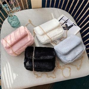 Shoulder Crossbody Bag Fall/Winter Hot-Selling Women's Bag Wholesale 2020 Spring and Summer Korean Style Plush Fashion Furry