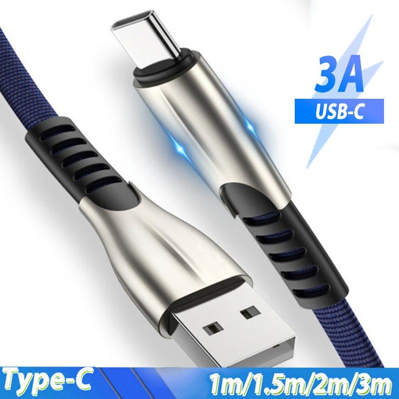 Cable USB tipo C de 3m y 2m Cable USB C para...