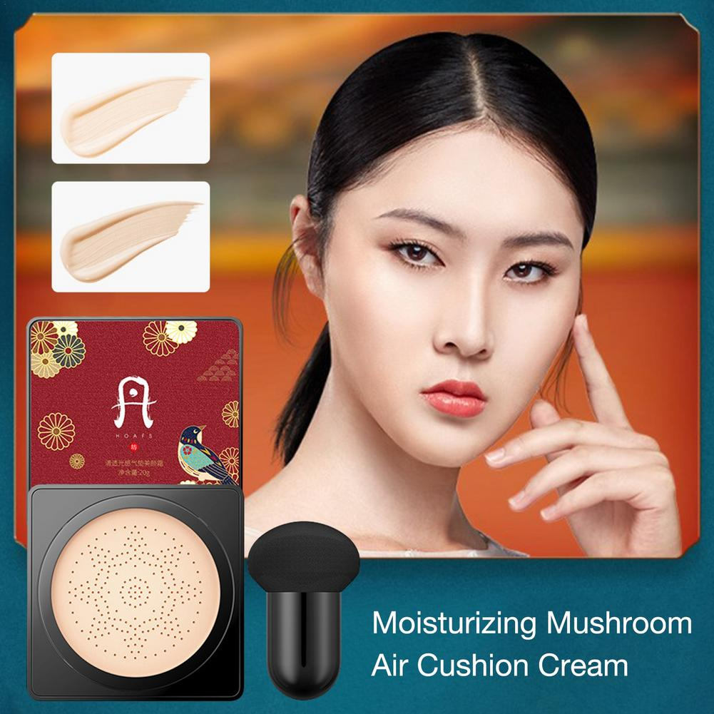 sunscreen air cushion bb cream concealer moisturizing foundation whitening flawless makeup bare air magic for face beauty makeup The New BB Air Cushion Foundation Mushroom Head CC Cream Concealer Whitening Makeup Cosmetic Waterproof Brighten Face Base Tone
