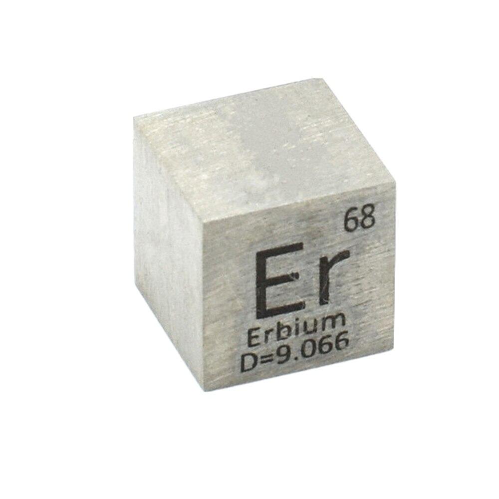 عنصر Erbium Er منحوت على شكل جدول دوري 10 مللي متر 99.9%