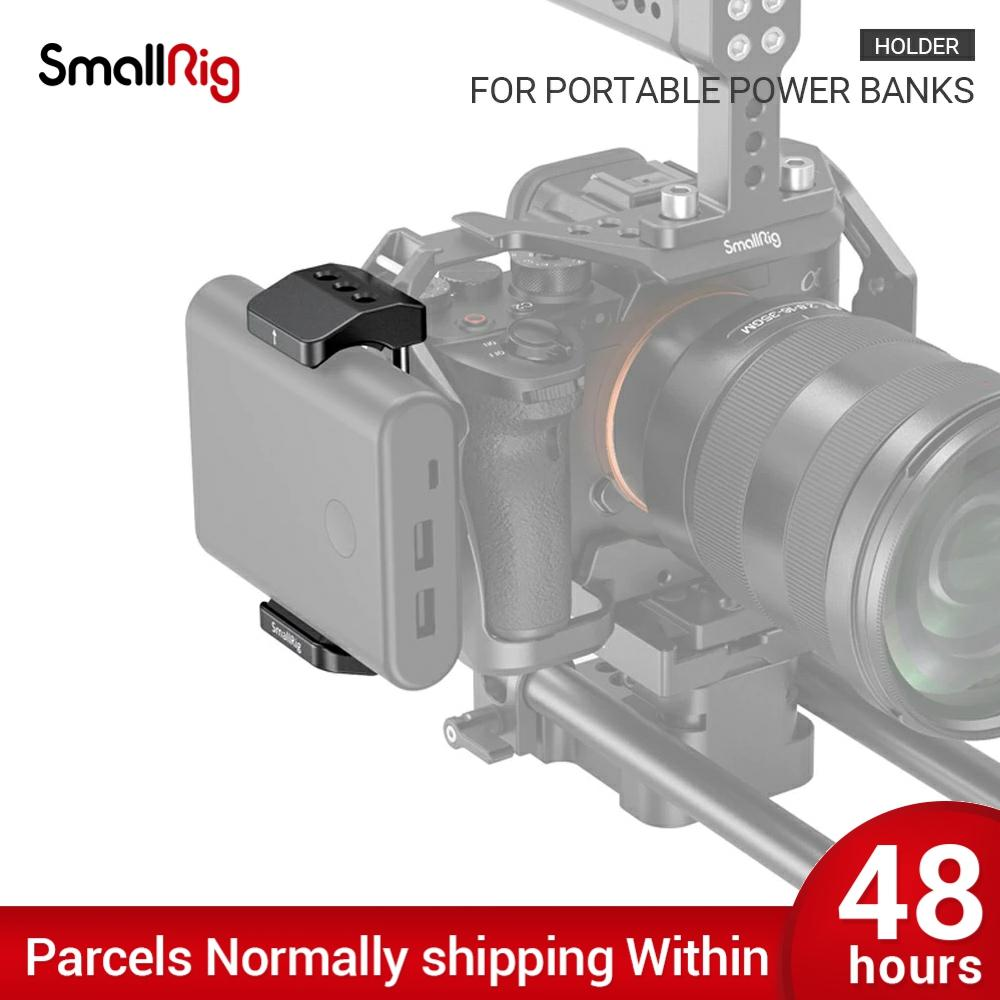 SmallRig Camera Bracket Power Bank Clamp Holder fr Portable Power Banks for Power bank with width ra