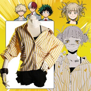 Anime Comic My Hero Academia Cosplay Costumes Uniforms Boku no hero academia suits Shirts Shorts casual clothes T Shirt Lapel
