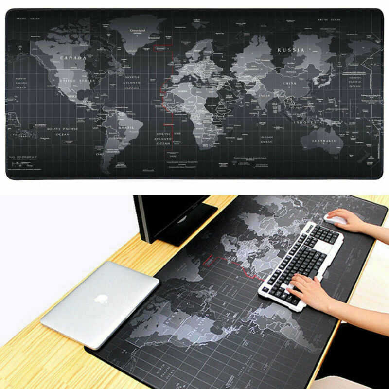 Faroot 1 pçs 90 cm x 40 cm extea grande xl gaming mouse pad esteira para computador portátil macbook pano de mesa antiderrapante