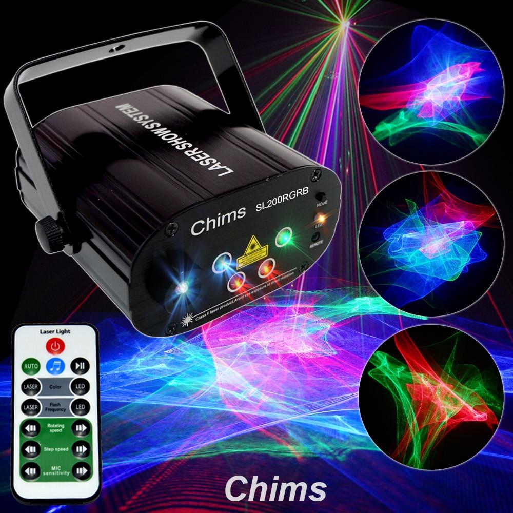 الرنين-مصباح ليزر RGB LED أزرق ملون ، مصباح حفلات ، موسيقى ، مهرجان ، ديسكو ، عرض ، بار ، نادي رقص