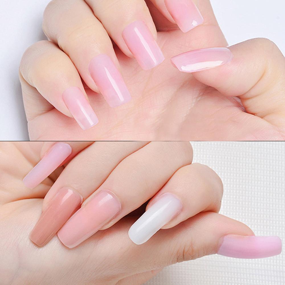 Prolong Nail Glue 30g g Fast Extend UV Gel LED Gel Ibcccndc Enhance Acrylic Liquid Tips 9 Sliding Colors Gel Poly Manicure R4D2