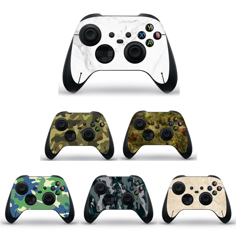 Anti-skid Wear-resistant Game Controller Handle Stickers Decals Cover Skin For XBOX SERIES S/ X-RAY GRIP Slim Console Joystick