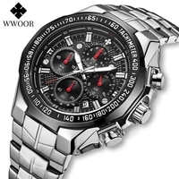 fashion big watch men wwoor brand luxury military quartz wrist watch mens waterproof sports chronograph watches men reloj hombre