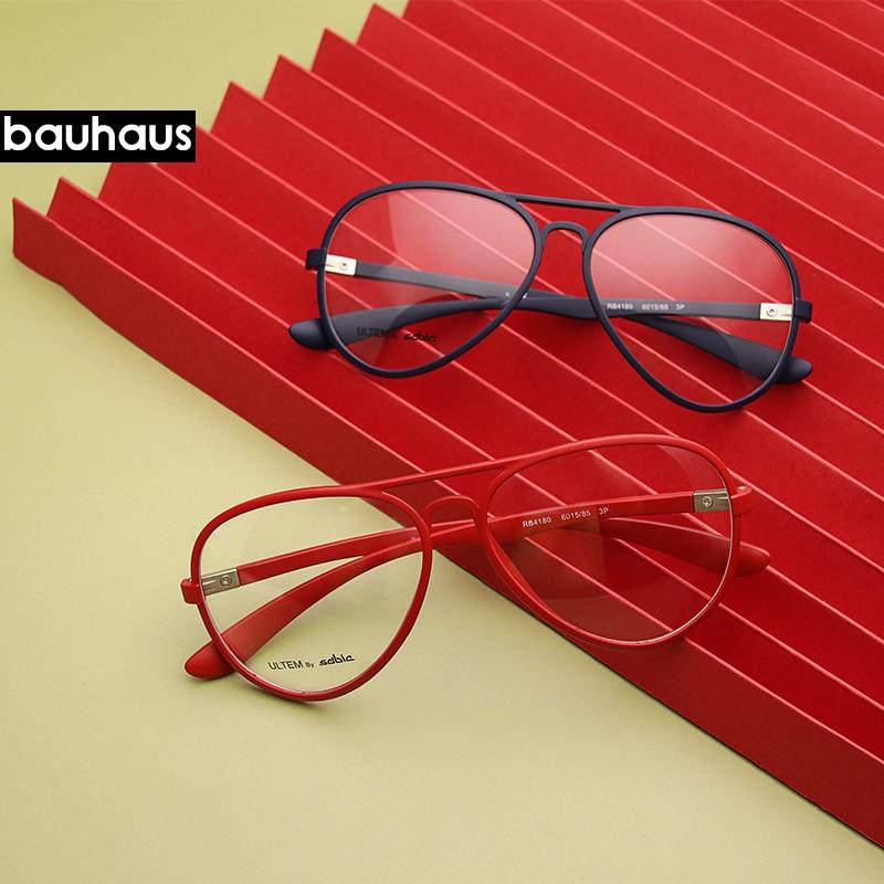 RB4180 6015 Aviation Frame Sunglasses Male Classic Eyeglasses Transparent Clear Lens Optical Women M
