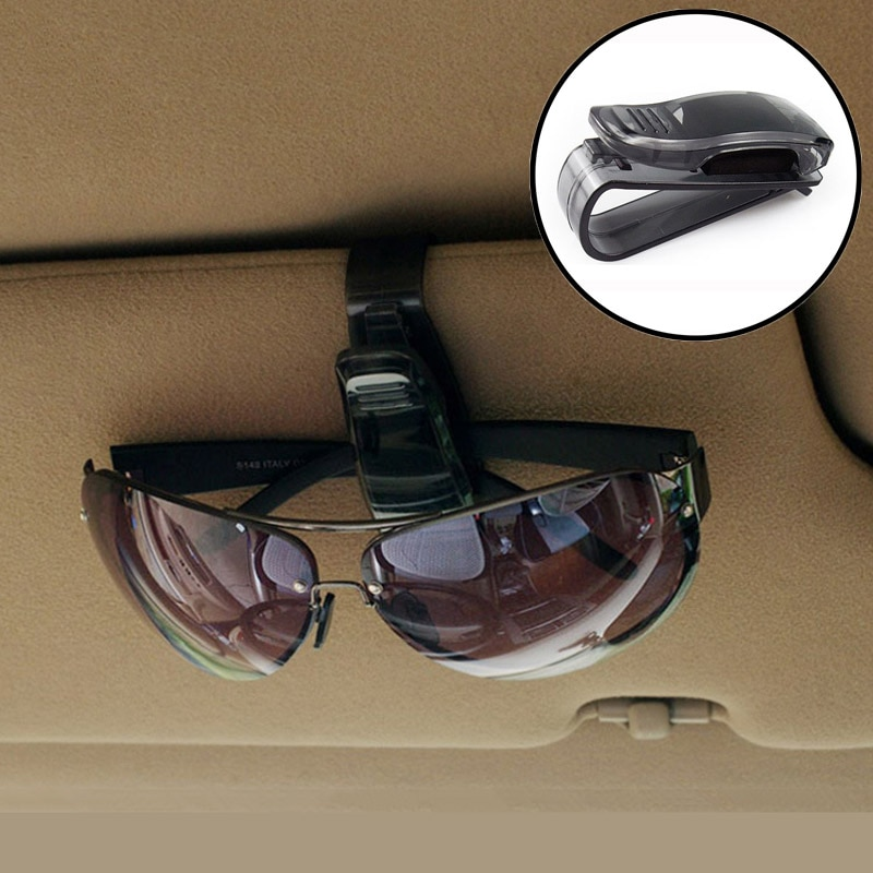 ABS Auto Glasses Sunglasses Clip car Accessories Stickers For Toyota alphard Tundra PRADO 4Runner Av