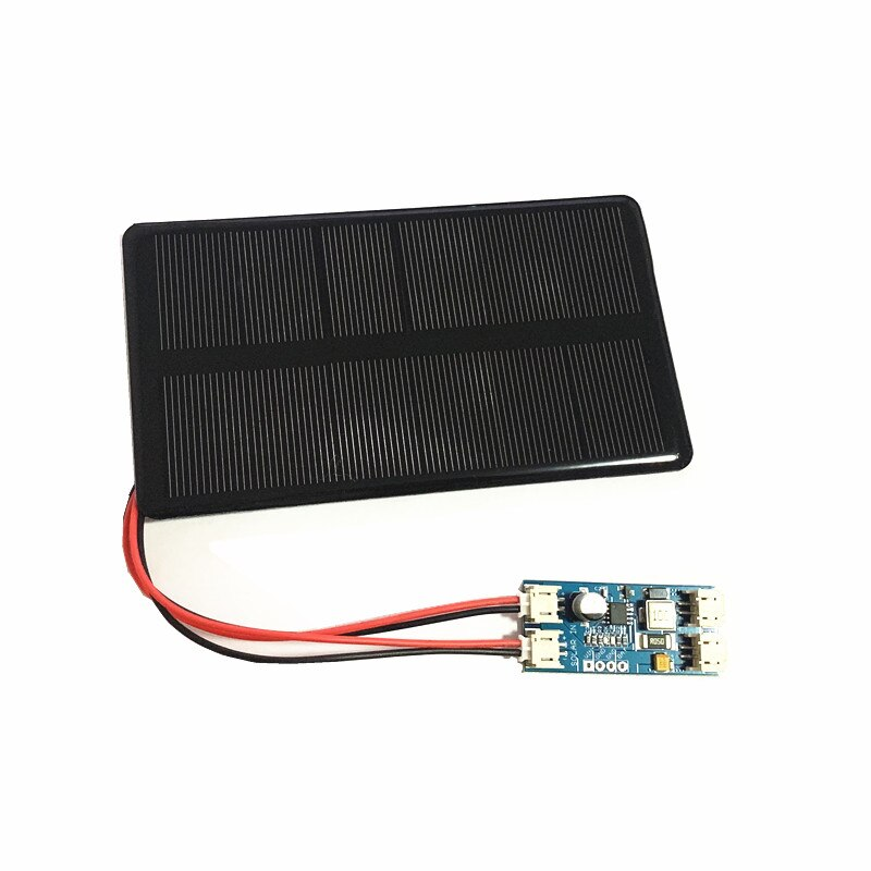 Mini 6V 210MA 1.25W Monocrystalline Silicon Solar Panel with solar charger CN3065 Cell Phone Charging