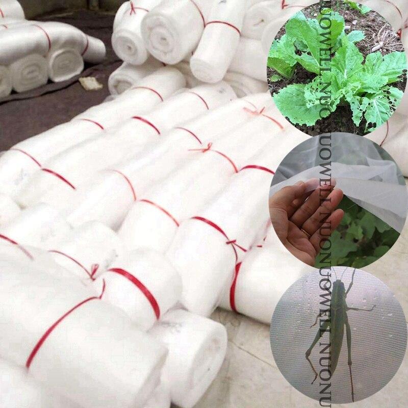 Controle de Pragas Largura: Bundle Estufa Anti Inseto Redes Jardim Netsfruit Proteção Vegetal Cuidados Cobertura Neting 5m 50m –