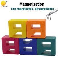 Powerful screwdriver plus magnetic device Dual-use degausser Mini Screw batch Fast magnetizer Demagnetizer