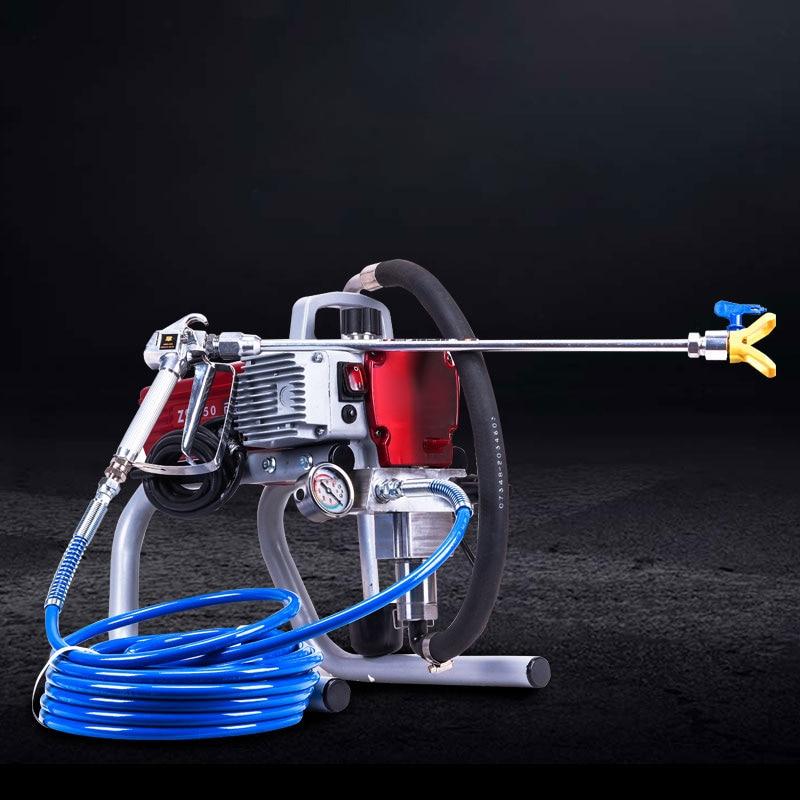 Maquina de pulverizacion sin aire de alta presión pulverizador de pintura sin aire profesional de herramienta de