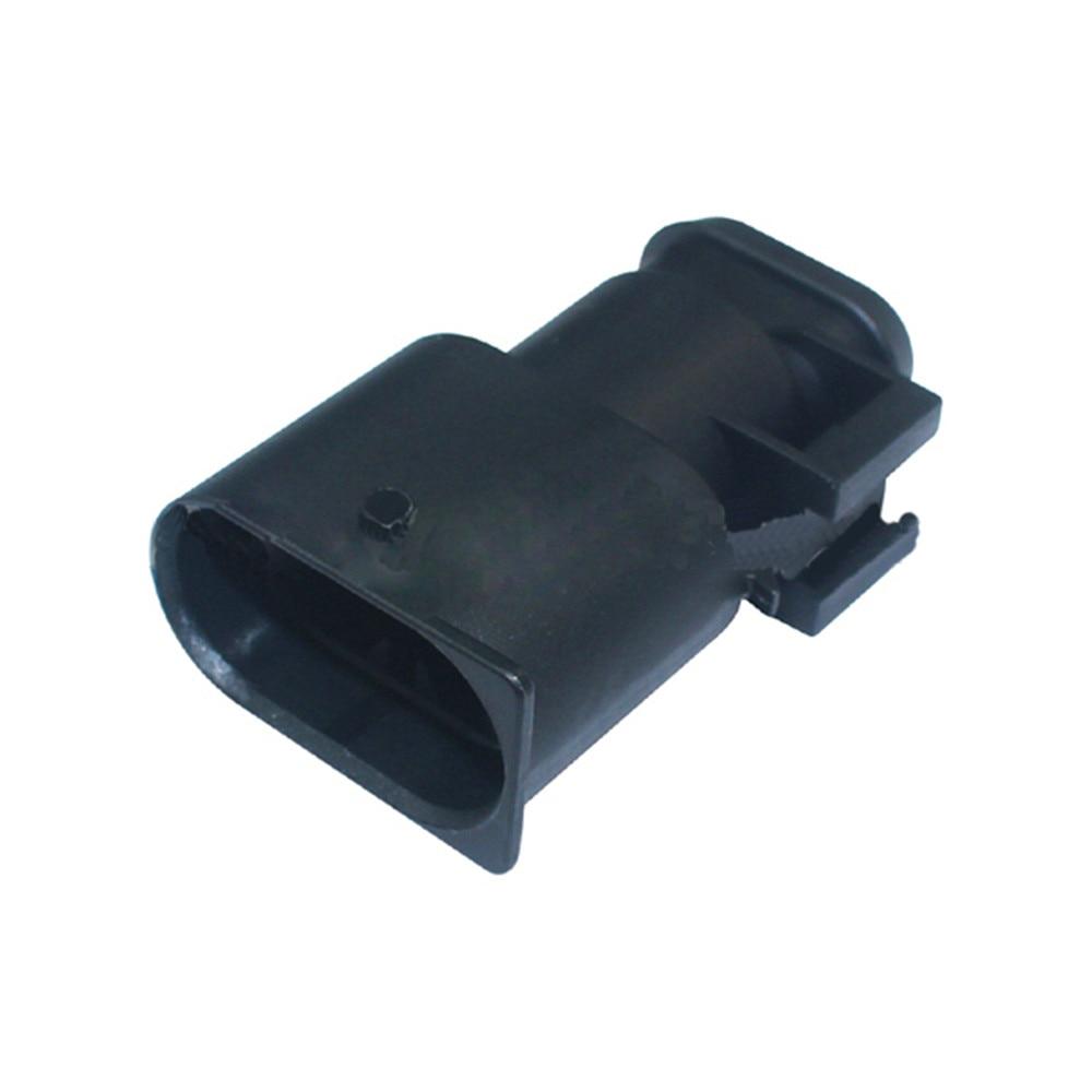 موصل كهربائي للسيارة مقاوم للماء ، 2/5/10/20/50/100 مجموعة ، 2 دبوس ، سلسلة 6.3