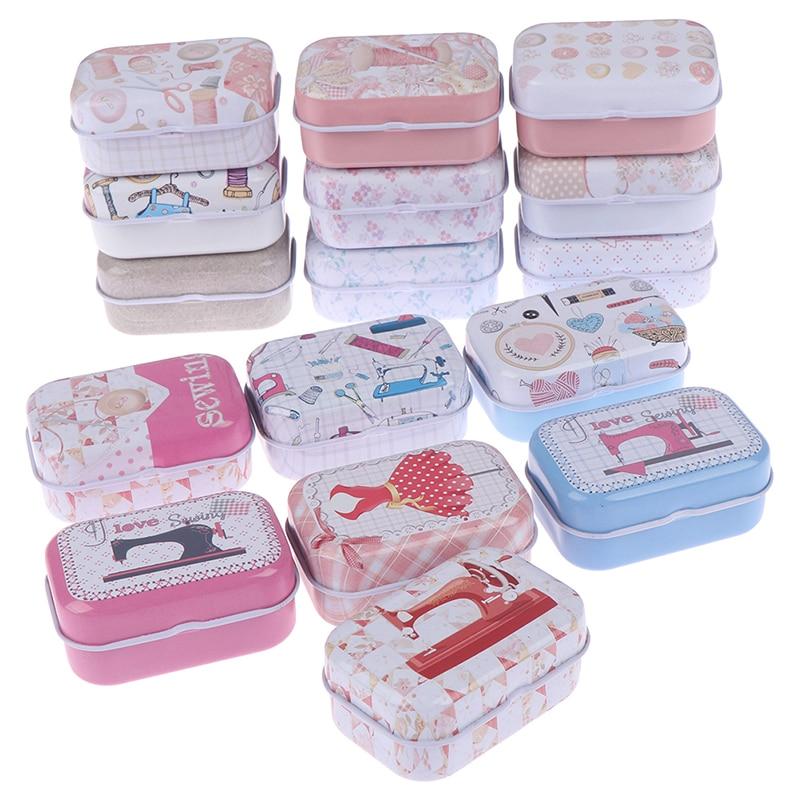 Mini Cute Medicine 7 Days Weekly Storage Pill Case Organizer Colorful Mini Tin Box Tablet Box Health Care Pill Box 2 Size