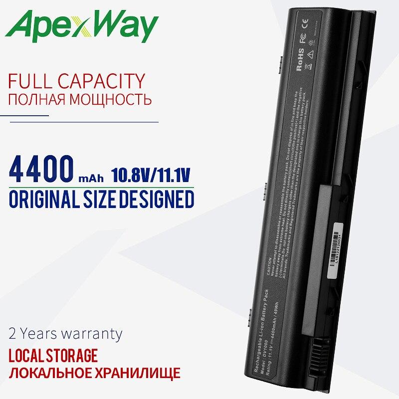 4400mAh batería para HP Pavilion G3000 G5000 dv1000 dv4000 dv5000 para Compaq...
