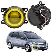 1 пара для Opel Zafira B MPV A05 автомобильный противотуманный светильник, комплект, ангельские глазки DRL, дневной ходовой светильник 12 в 2005 2006 2007 2008 2009 2010 2011