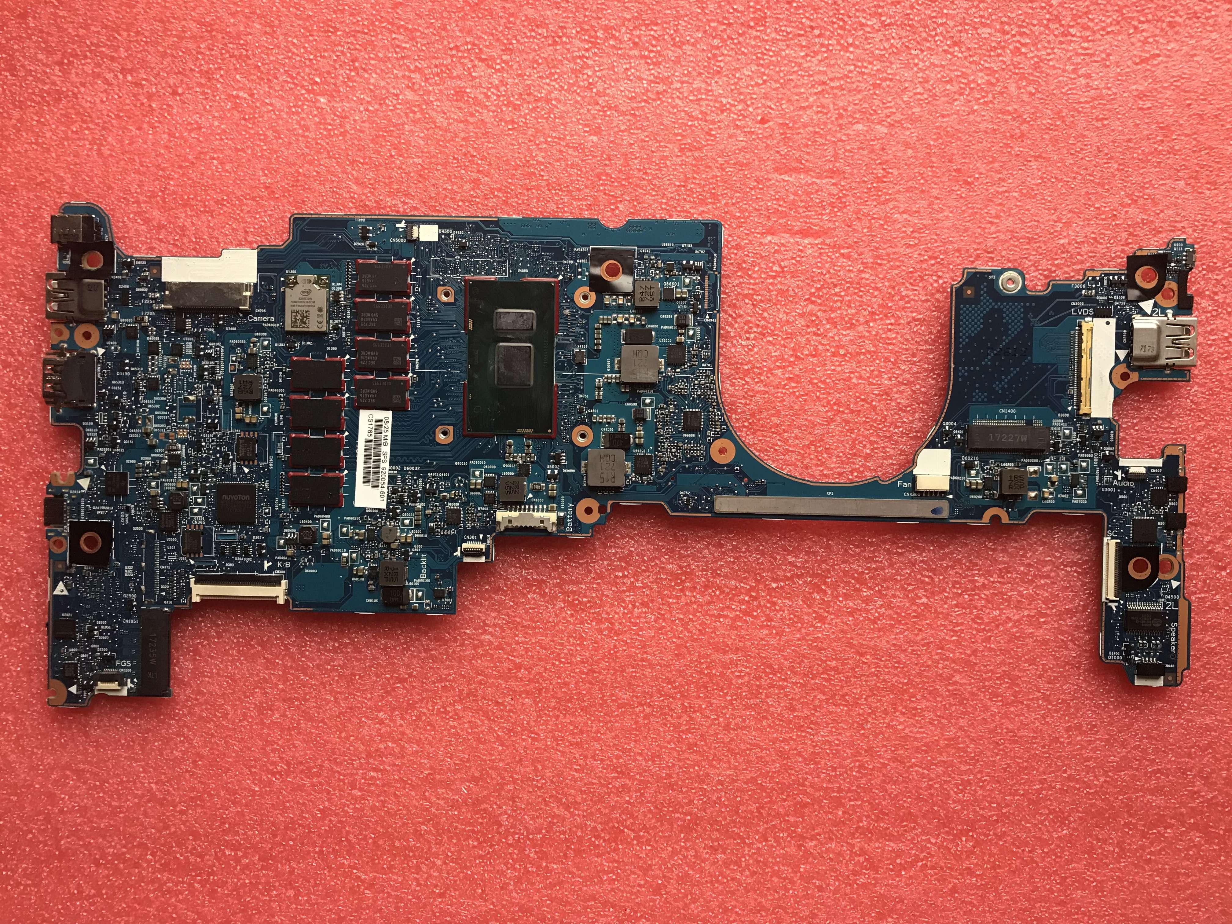 Placa base para ordenador portátil 920054-601 920054-001, para HP EliteBook X360 1030 G2, 6050A2848001-MB-A01, memoria de 16gb SR341 I7-7500U